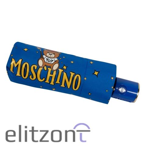 Зонт складной Moschino 8323-compactF Toy Constellation Sky blue