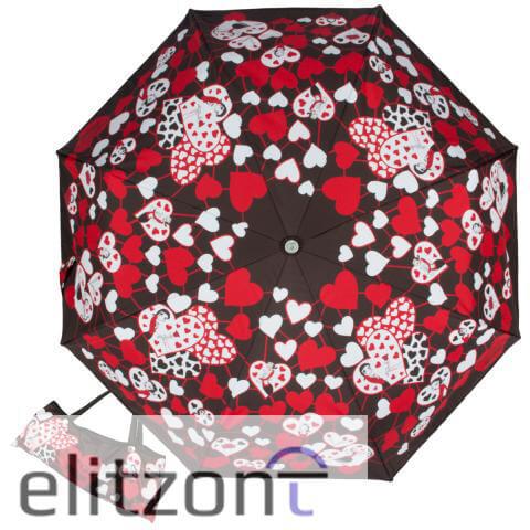 яркий необычный зонт, женский