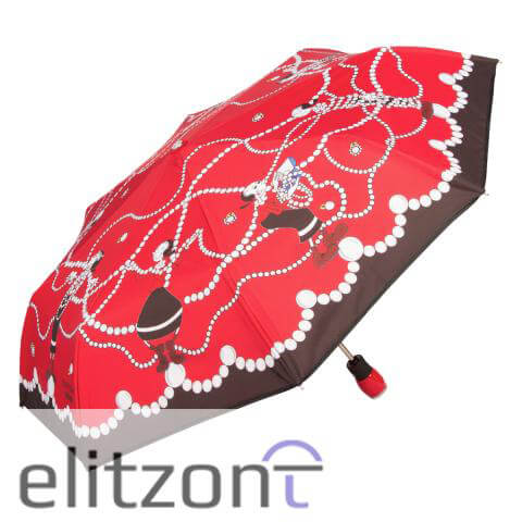 надежный стильный женский зонт, складной, купить