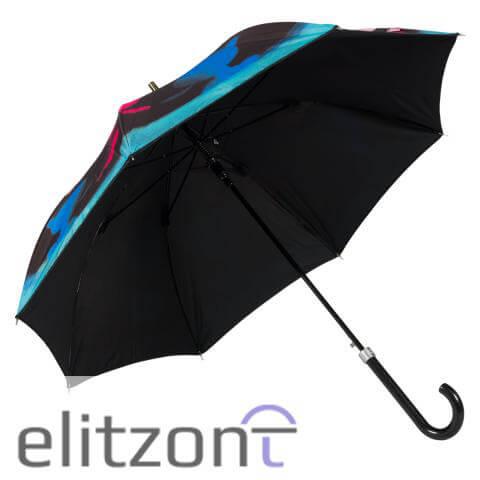 купить оригинальный зонт трость женский