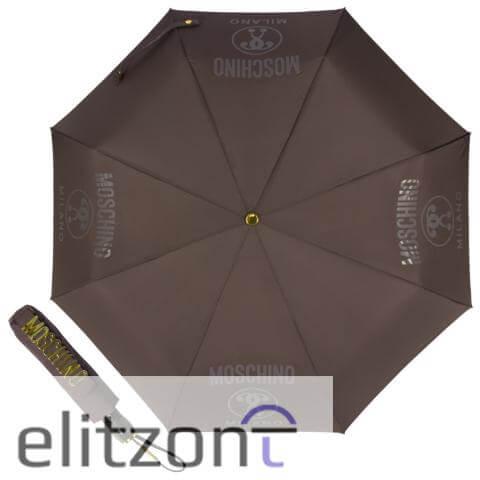 женский складной стильный зонт, автомат