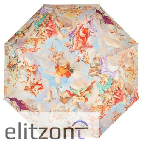 оригинальный женский зонт, складной, автомат