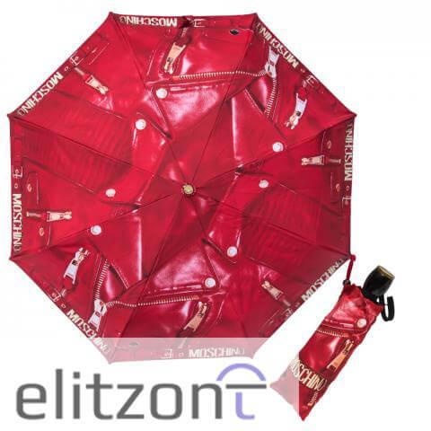 купить красный женский зонт, складной