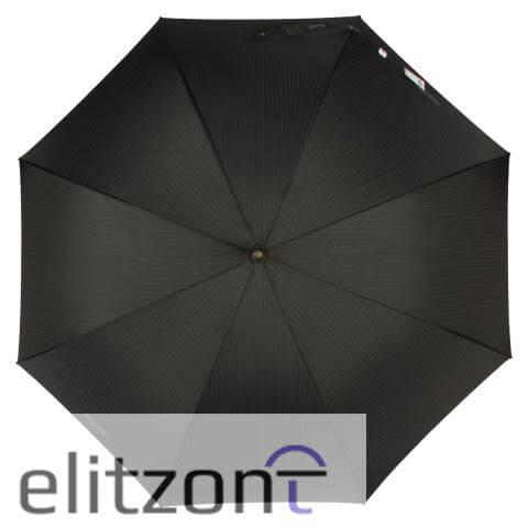 зонт трость, кожанная ручка, мужской