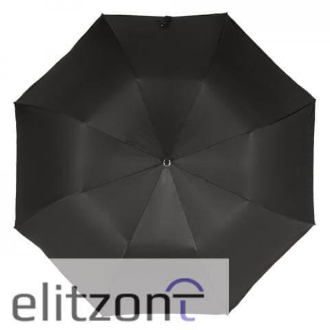 Зонт складной Pasotti Auto Fido Silver Oxford Black