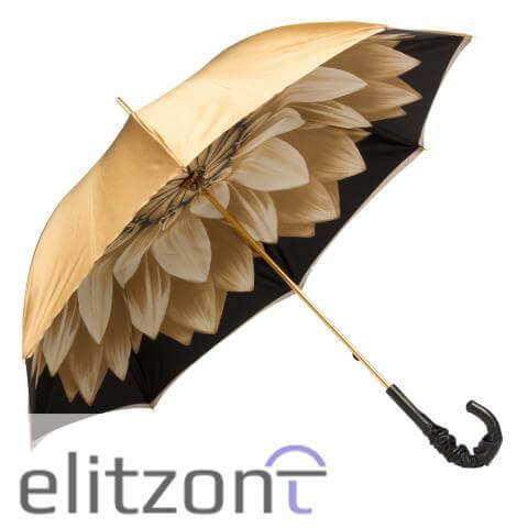 Зонт-трость Pasotti Becolore Georgin Beige Pelle
