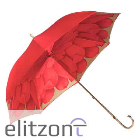 Зонт-трость Pasotti Coral Georgin Oro