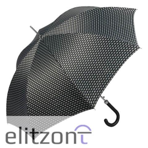 Зонт-трость Pasotti Helix Atene Black