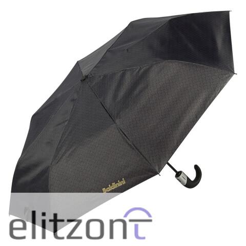 Элитный подарок мужчине, складной мужской зонт Baldinini. полный автомат, прочный, удобная ручка, легкий