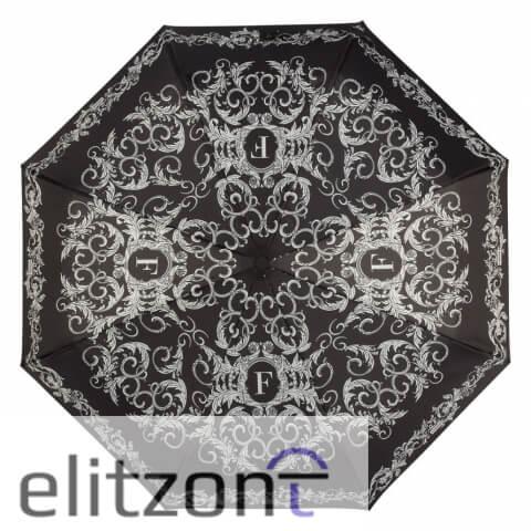 Оригинальный складной женский зонт Ferre, полный автомат, стильный, надежный, в подарок девушке