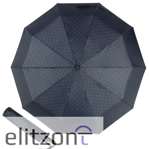 Элитный подарок мужчине, складной зонт Ferre, качественный, надежный