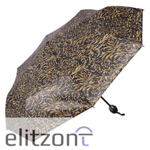 Женские складные зонты, брендовые, надежные, система антиветер, полный автомат
