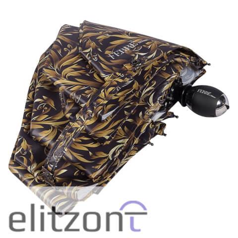 Фирменные женские зонты Ferre, складные, заказать в интернет магазине
