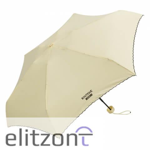 маленький складной женский зонт