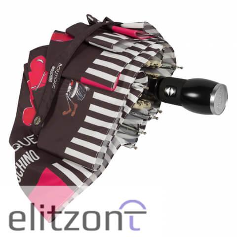 зонт с сердечками, купить москино