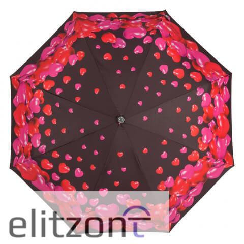 складной женский стильный зонт, автомат