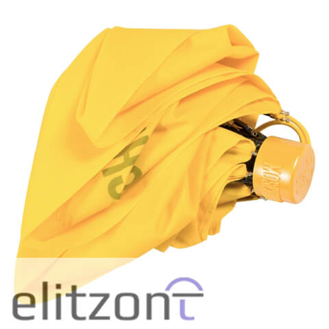 Зонт складной Moschino 8014-superminiU Couture! Yellow