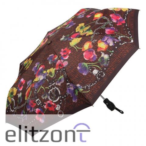 стильный зонт москино, оригинал купить в москве