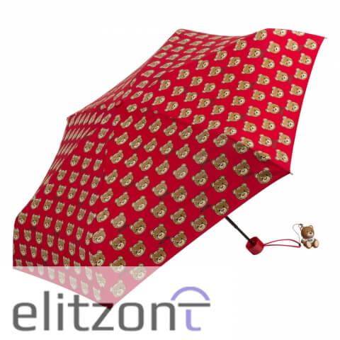 купить легкий, маленький зонт, летний, яркий, брендовый зонт, подарок девушке