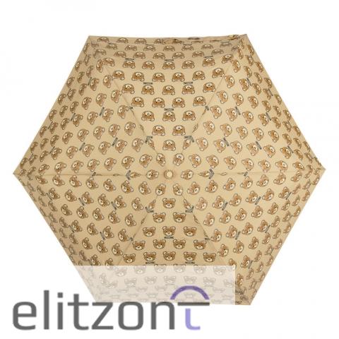 купить женский легкий зонт, оригинальный, брендовый, красивый, с мишками
