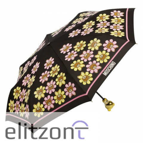 купить зонт от солнца, -Moschini, -с мишкой, - с ручкой мишкой, -модный, -яркий