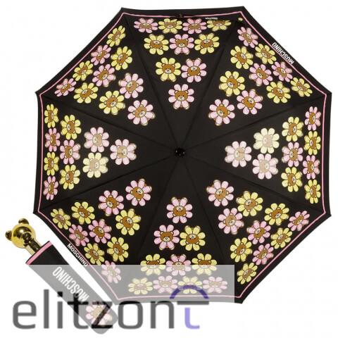 -купить женский зонт, -Moschino, -модный, -красивый, -летний зонт