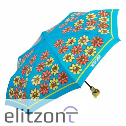 -купить брендовый зонт, -голубой, -модный, -автоматический, -доставка по России, -цветной зонт