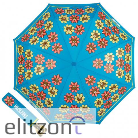 купить летний зонт, -зонт от солнца, -красивй, - модный, автомат, -зонт с мишкой, -оригинальные зонты Moschino