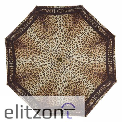 купить зонт с животным принтом, -заказать брендовый зонт Moschino, -купить оригинальный зонт Moschino