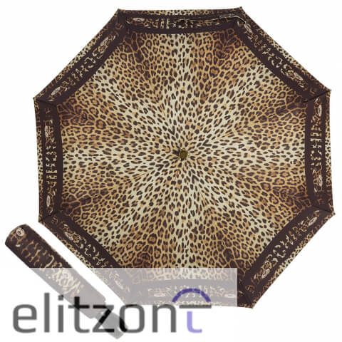 купить брендовый зонт, -модный, -леопардовый зонт, -брендовые зонты в москве, -зонт Moschino