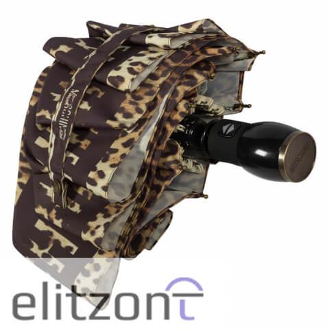 купить складной зонт Moschino, -модный, -красивый, оригинальный зонт в Москве, -Спб