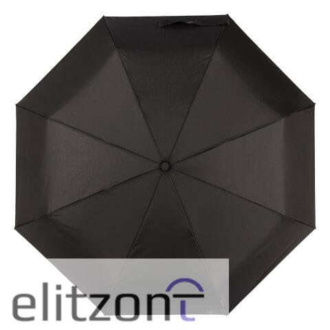 Зонт cкладной M&P C2781-OC Light Black (встроенный фонарик)