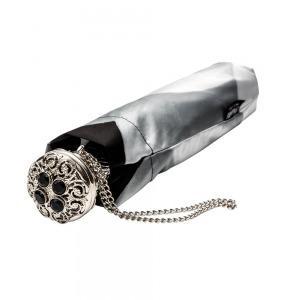 Зонт Складной Pasotti Auto Georgin Grigio Lux фото-3