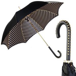 Зонт-трость Pasotti Nero Pois Dossi фото-1