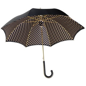 Зонт-трость Pasotti Nero Pois Dossi фото-3