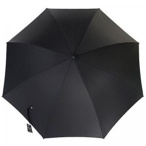 Зонт-трость Pasotti Leone Silver StripesS Black фото-2