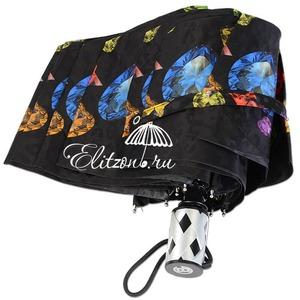 Зонт Складной Baldinini 18-OC Diamante Black фото-2