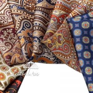 Платок Pollini Snow Red 35х35 100% Шелк фото-5