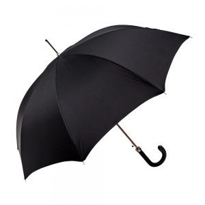 Зонт-трость Pasotti Classic Pelle Oxford Black фото-3