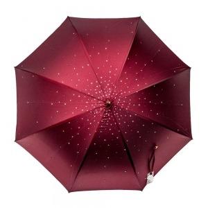 Зонт-трость Pasotti Swarovski Bordo  фото-6