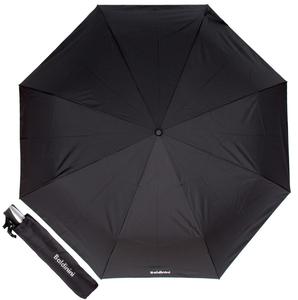Черный зонт складной Baldinini 5691-OC Major Black фото-1