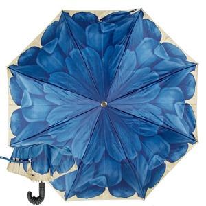 Зонт складной Pasotti Auto Georgin Blu Pelle фото-1
