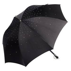 Зонт-трость Pasotti Swarovski Black фото-1