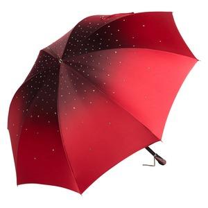 Зонт-Трость Pasotti Swarovski Rosso фото-2