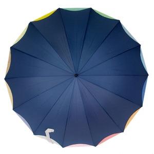 Зонт-трость Guy De Jean 6397-LA Rainbow Blu фото-3