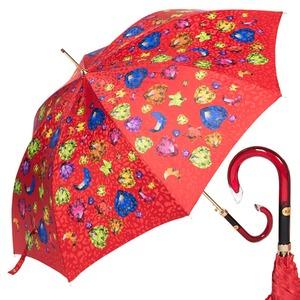 Зонт-трость Baldinini 17-LA Diamante long Rosso фото-1