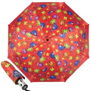 Зонт Складной  Baldinini 18-OC Diamante Red фото-1