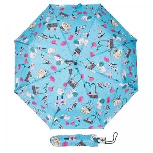 Зонт складной Baldinini 36-OC Acsesori Blu фото-1