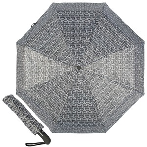 Зонт складной Baldinini 39-OC Logo Black фото-1