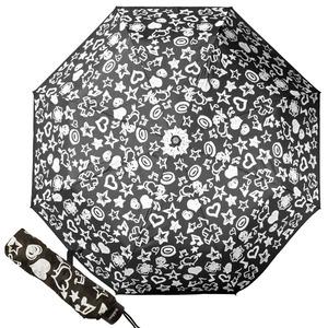 Зонт складной Baldinini 554-OM Melody Black  фото-1